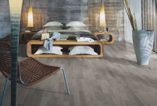 Laminated Floor In A Classic Bedroom In Aberdeen Image