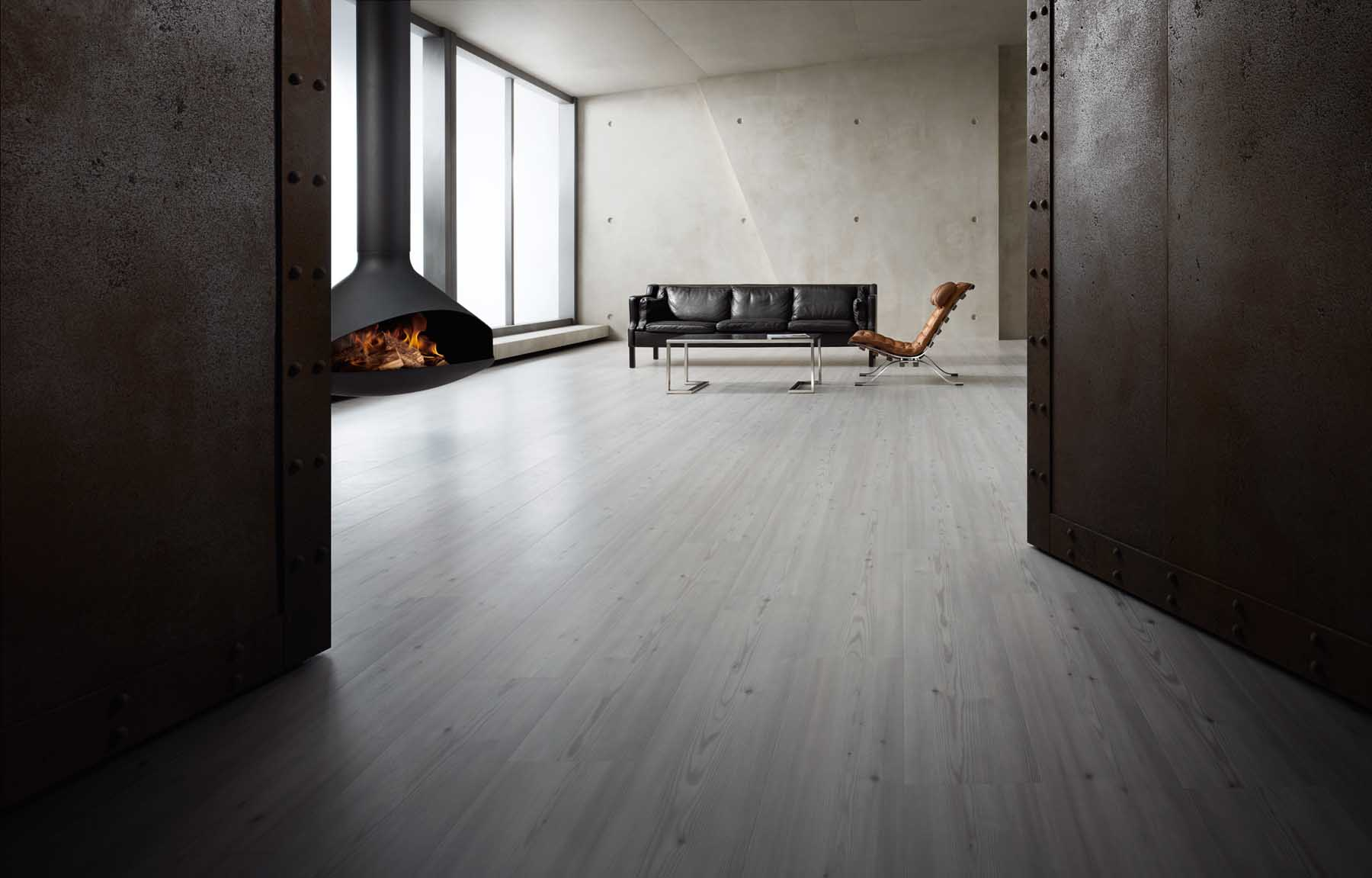 modern Amtico living room flooring with cool furniture at Inspire Flooring Aberdeen